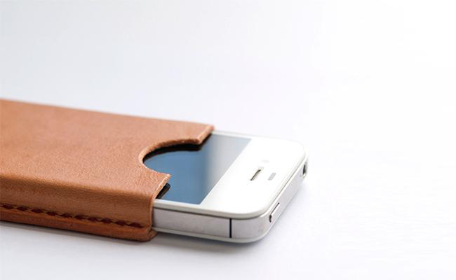 Funda iPhone cuero handmade