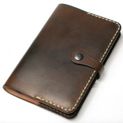 Leather Moleskine cover A6