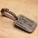Tarjeta identificación maleta