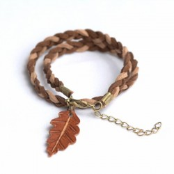Pulsera single oak double