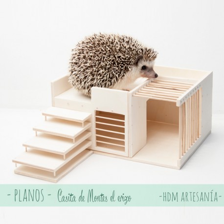 Kit DIY casita de Montes el erizo