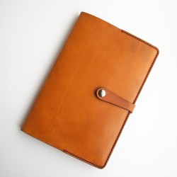 Leather Moleskine cover A5