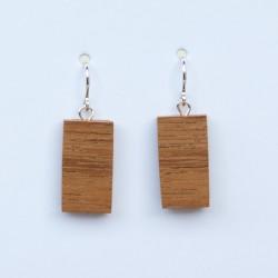 Pendientes Silver & Wood