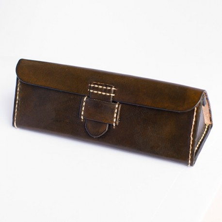 Estuche Leather Triangle