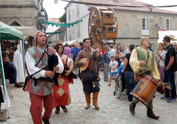 mercado medieval noia