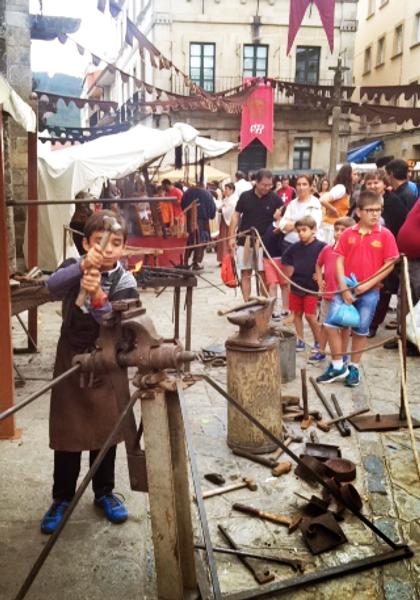 mercado medieval atracciones